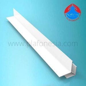 Lis Plafon PVC Plafonesia LPN 91 putih