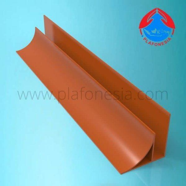 Lis PVC Plafonesia LPN 92 coklat