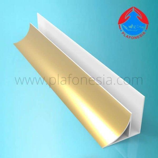 Lis Plafon PVC Plafonesia LPN 92 gold