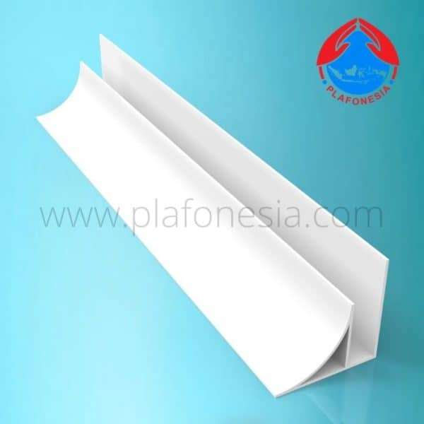 Lis PVC Plafonesia LPN 92 putih