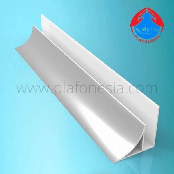 Lis Plafon PVC Plafonesia LPN 92 silver