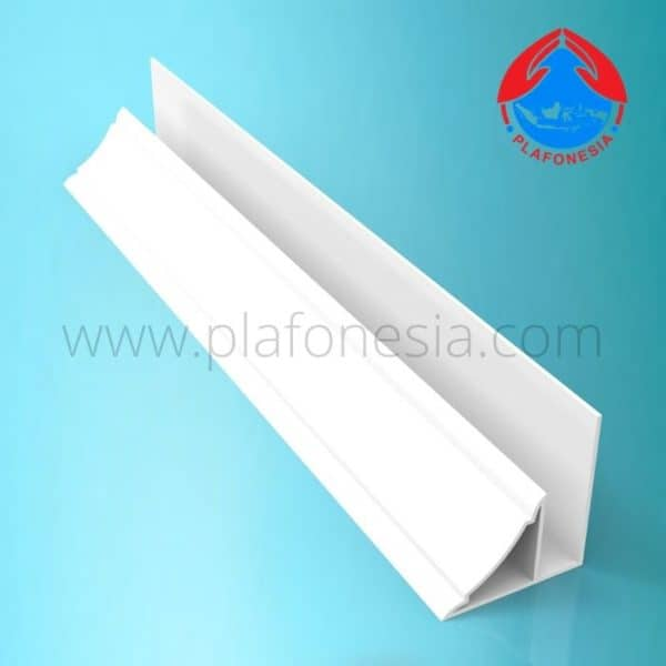 Lis Plafon PVC Plafonesia LPN 94 putih