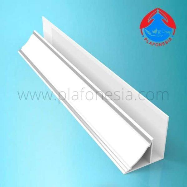 Lis Plafon PVC Plafonesia LPN 94 silver