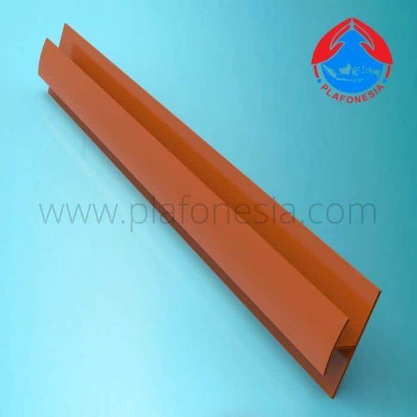 Lis Plafon PVC Plafonesia LPN 95 coklat