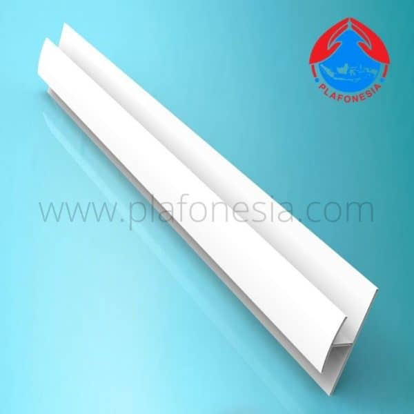 Lis Plafon PVC Plafonesia LPN95 putih