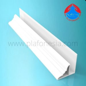 Lis Plafon PVC Plafonesia LPN 96 putih