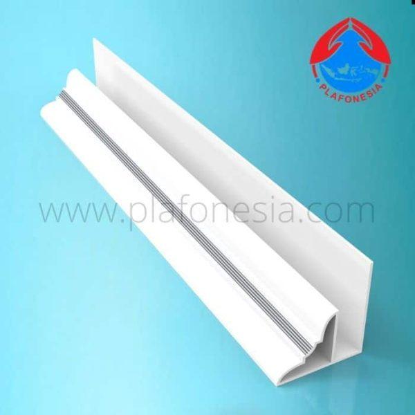 Lis Plafon PVC Plafonesia LPN 96 silver