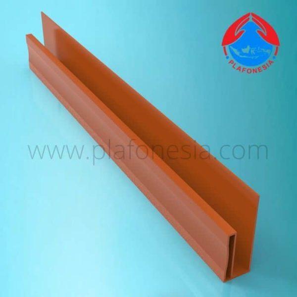 Lis Plafon PVC Plafonesia LPN 97 Coklat