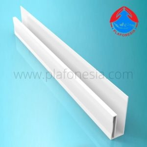 Lis Plafon PVC Plafonesia LPN97 Putih