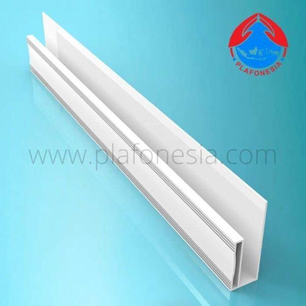 Lis Plafon PVC Plafonesia LPN 97 Silver