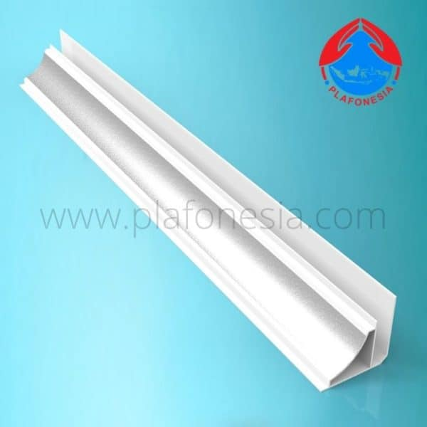 Harga Lis Plafon PVC Plafonesia LPN 98 silver