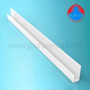 Lis Plafon PVC Plafonesia LPN99 putih
