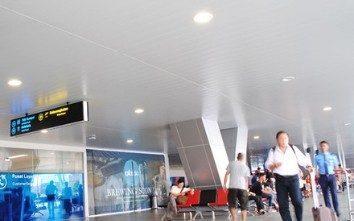 pemasangan plafon pvc bandara