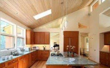 pemasangan plafon pvc kayu
