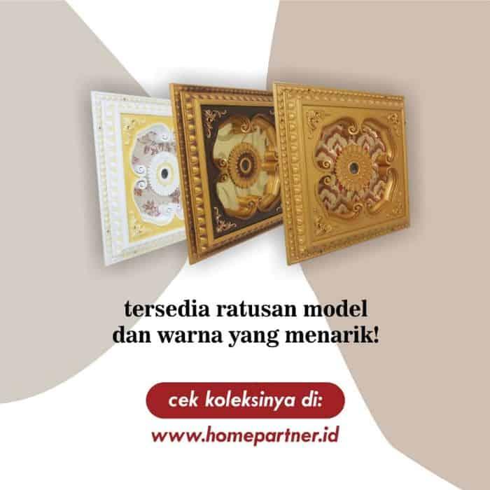 Motif Ornamen Plafon PVC | Ready 100 Motif