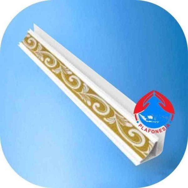 lis plafon pvc plafonesia lpn 98-6 emas