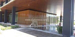 plafon pvc motif kayu tua